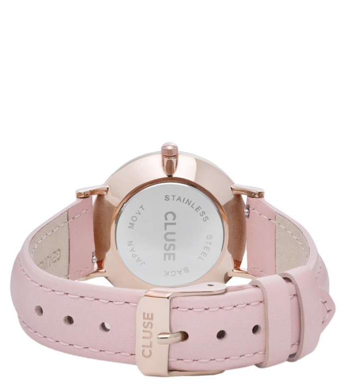 Cluse Cluse Watch Minuit pink/white rose gold