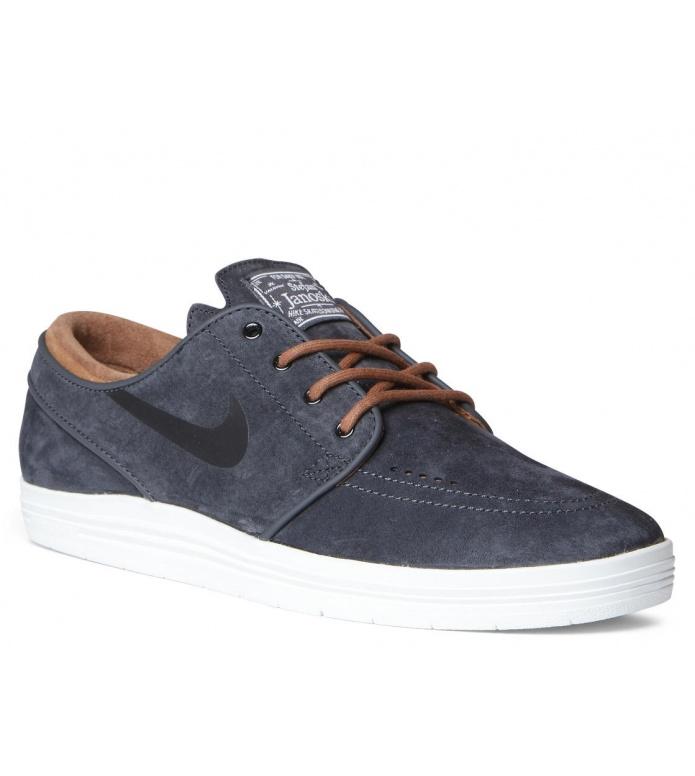 Nike SB Nike SB Shoes Lunar Janoski grey anthracite/black-ale brown