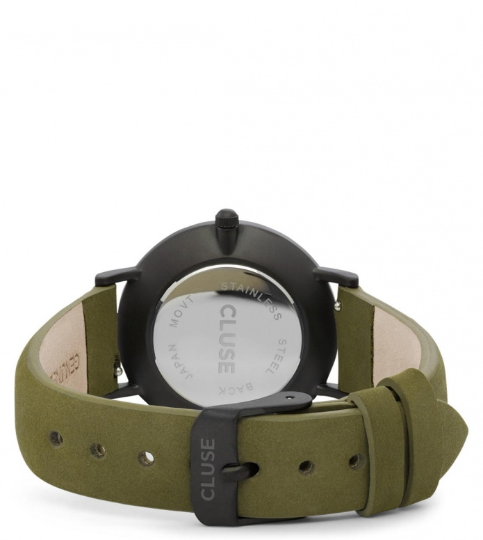 Cluse Cluse Watch Minuit green olive/black full