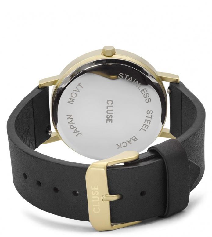 Cluse Cluse Watch La Roche black/black marble gold
