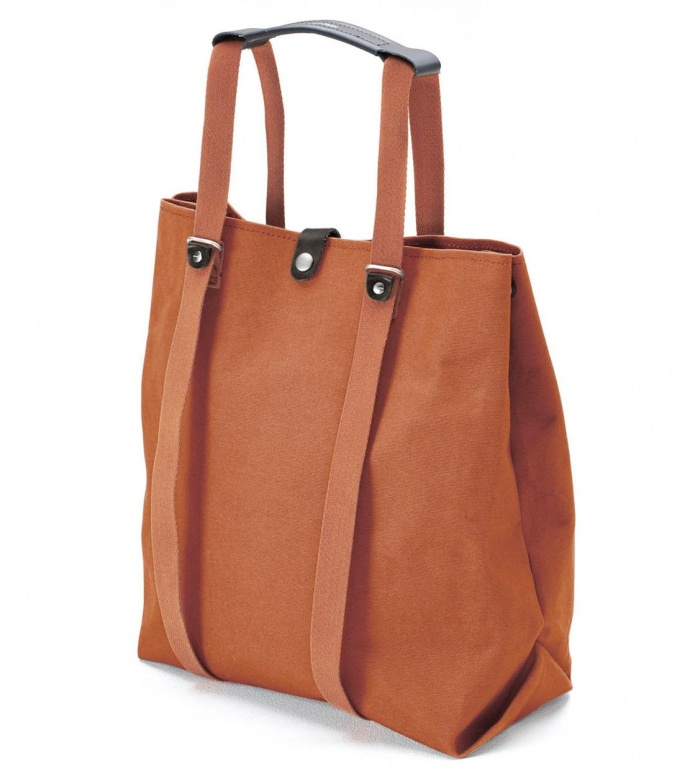 Qwstion Qwstion Bag Shopper organic rust