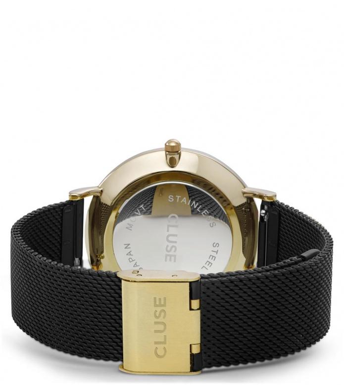 Cluse Cluse Watch La Boheme Mesh black/black gold