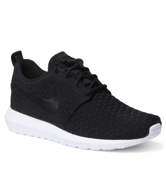 Nike Nike Shoes Rosherun NM Flyknit black/black-white