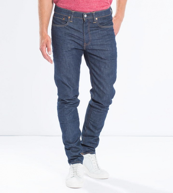 Levis Levis Jeans 512 Slim Taper Fit blue broken raw