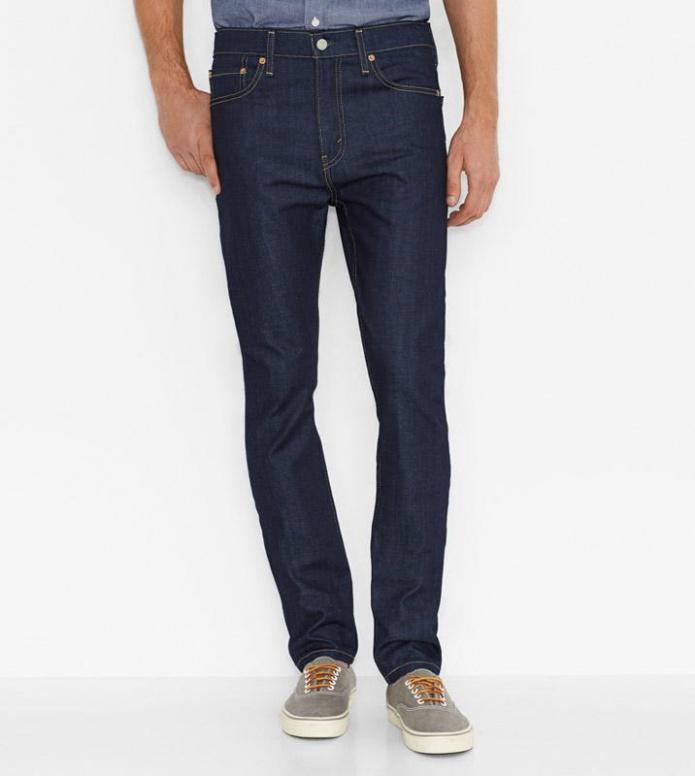 Levis Levis Jeans 510 Skinny Fit blue broken raw