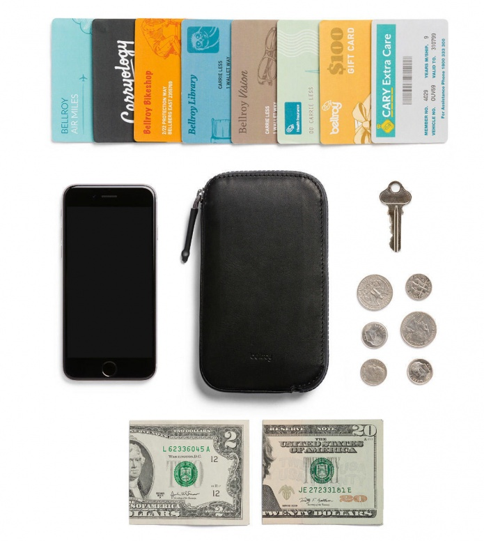 Bellroy Bellroy Phone Pocket All-Conditions Standard black