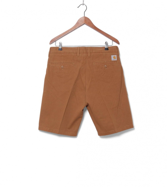Carhartt WIP Carhartt WIP Shorts Johnson Midvale brown hamilton