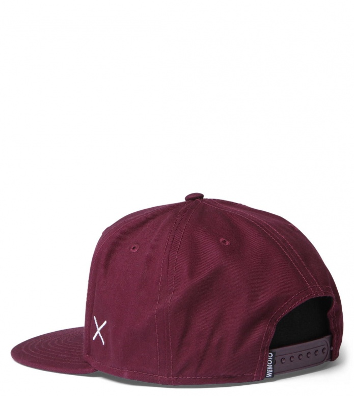 Wemoto Wemoto Snap Cap Flag red burgundy