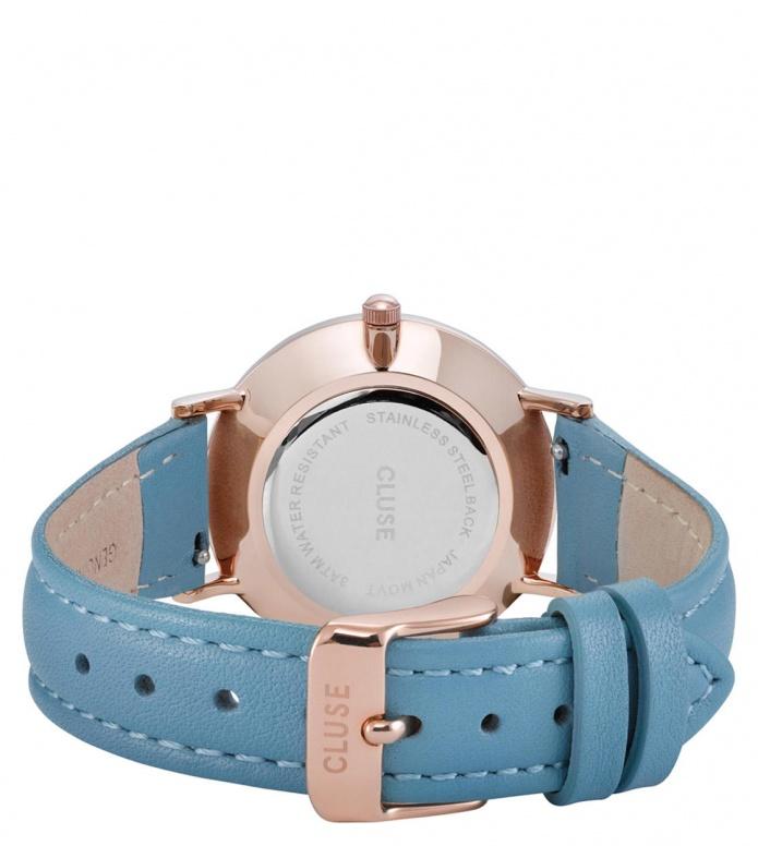 Cluse Cluse Watch Minuit blue retro/white rosegold