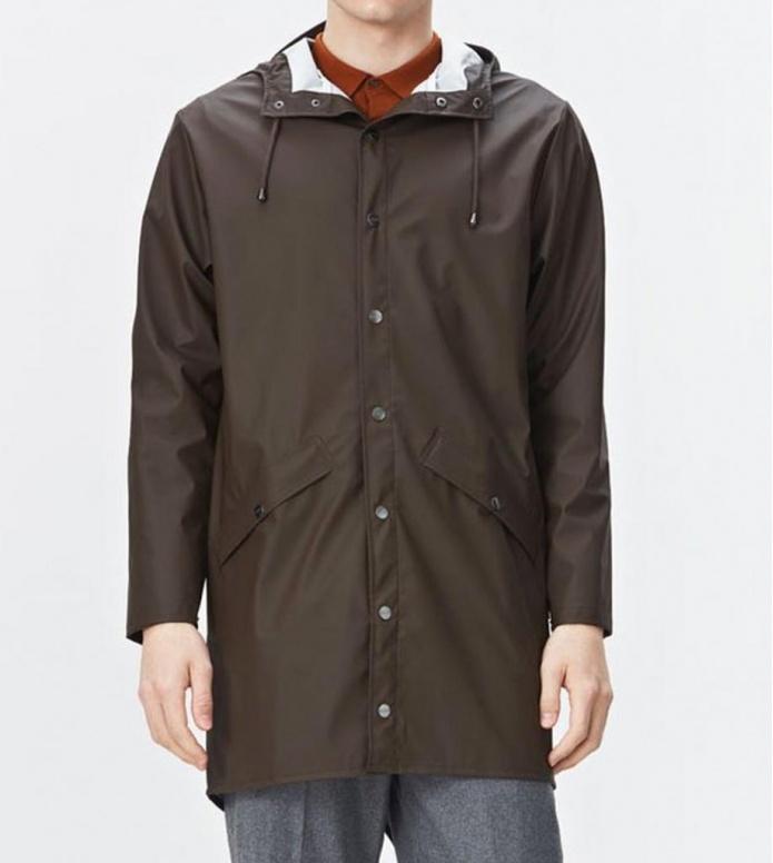 Rains Rains Rainjacket Long brown