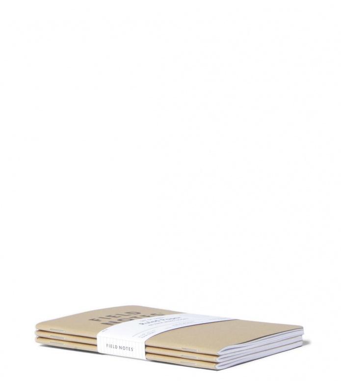 Field Notes Field Notes Ruled Paper 3 Pack brown original kraft