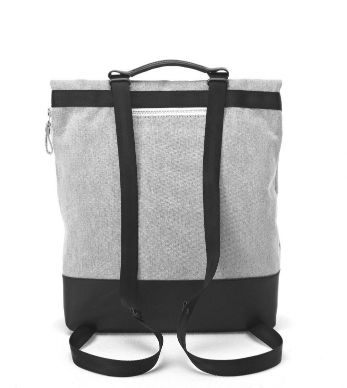 Qwstion Qwstion Bag Tote raw blend leather canvas