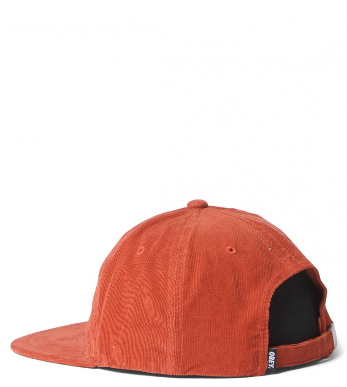 Obey Obey 6 Panel Hazel orange rust