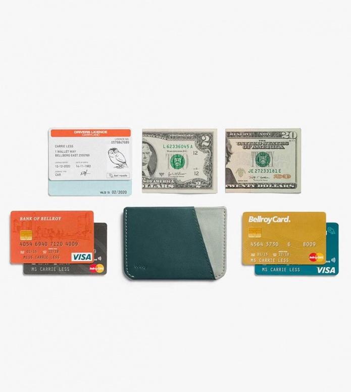 Bellroy Bellroy Wallet Micro Sleeve green teal