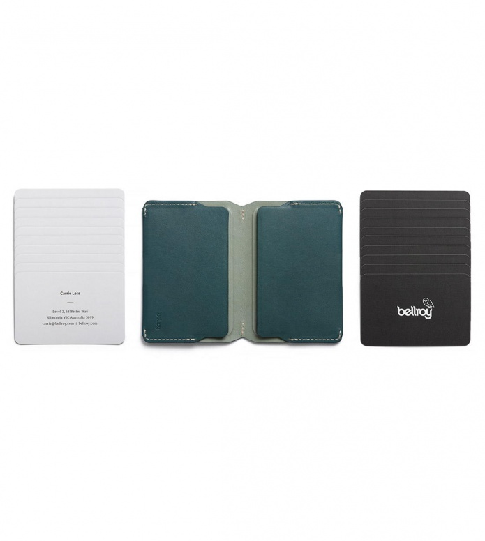Bellroy Bellroy Card Holder green teal
