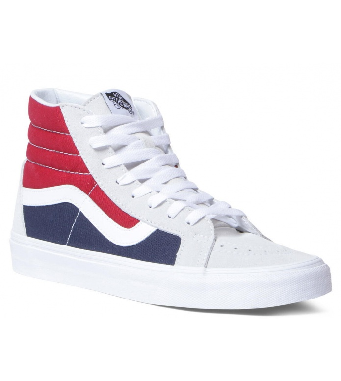 Vans Vans Shoes Sk8-Hi grey retro block white/red/d