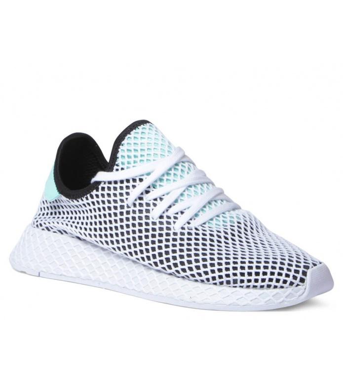 Adidas Shoes Deerupt Runner black coreeasy greenfootwear