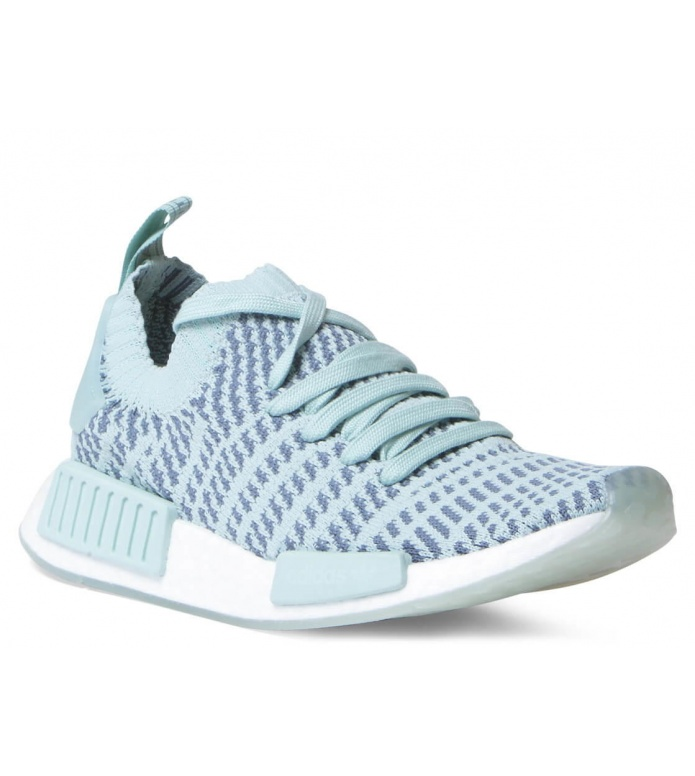 adidas Originals Adidas W Shoes NMD R1 STLT PK green ash/raw indigo/footwear white