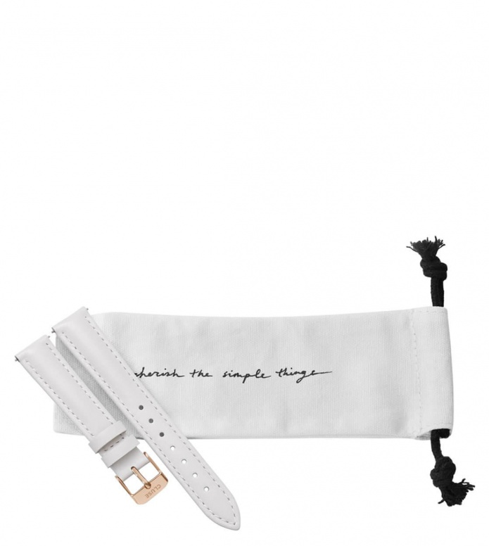 Cluse Cluse Strap Minuit white/rose gold