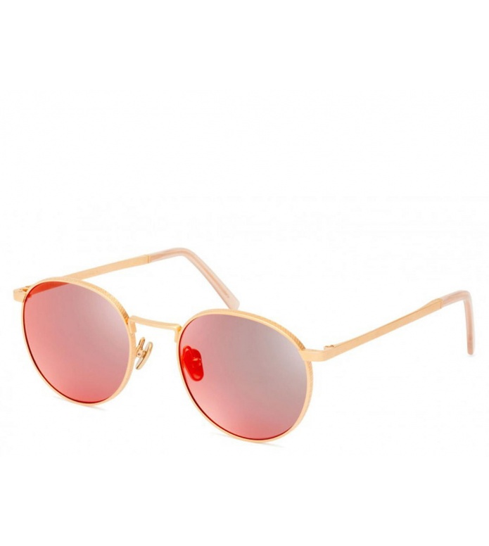 Viu Viu Sunglasses Voyager rosegold/red mirror