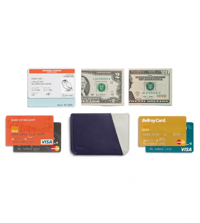 Bellroy Bellroy Wallet Micro Sleeve blue navy