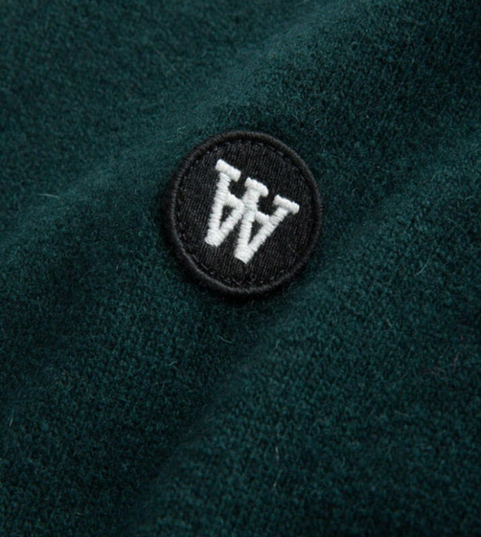 Wood Wood Wood Wood Sweater Sid green dark