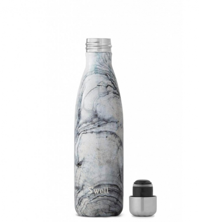 Swell Swell Water Bottle MD blue elements sandstone