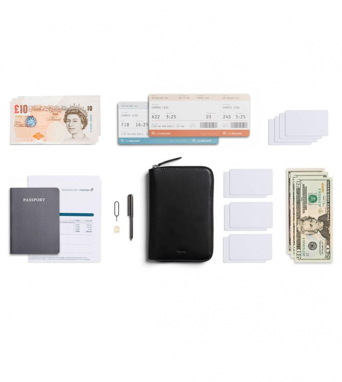 Bellroy Bellroy Travel Folio RFID black