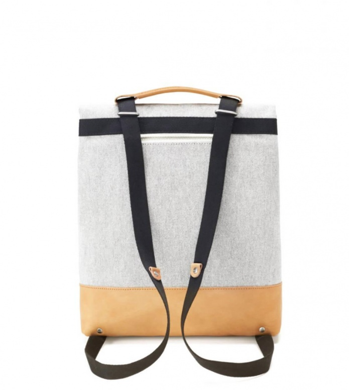 Qwstion Qwstion Bag Small Tote raw blend natural leather