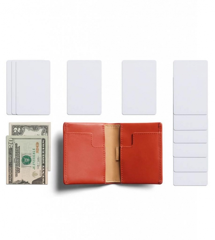 Bellroy Bellroy Wallet Slim Sleeve red tangelo