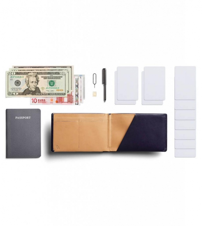 Bellroy Bellroy Wallet Travel RFID blue navy