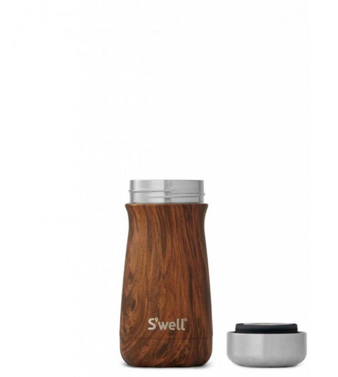 Swell Swell Bottle Traveler SM brown teakwood