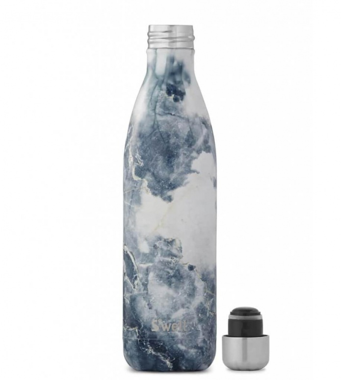 Swell Swell Water Bottle LG blue elements granite