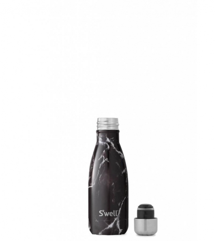 Swell Swell Water Bottle SM black marble