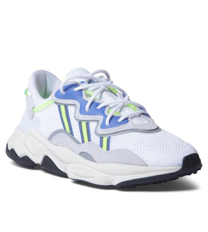 adidas Originals Adidas Shoes Ozweego white footwear/grey one/solar yellow