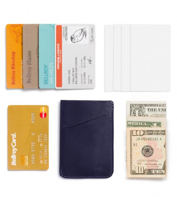 Bellroy Bellroy Wallet Card Sleeve blue navy