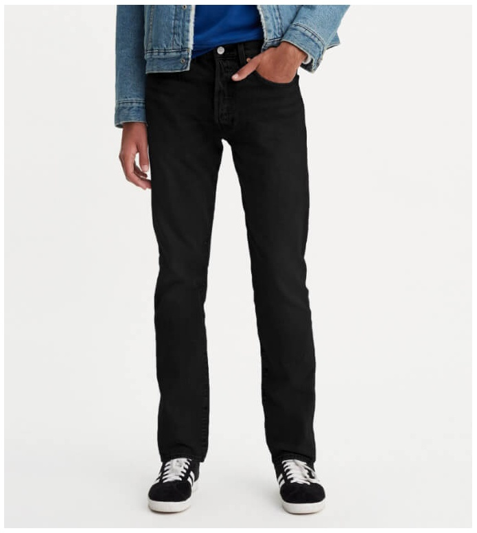 Levis Levis Jeans 501 Slim Taper black od