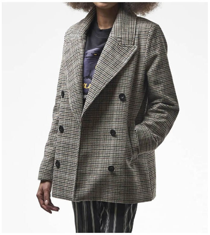 Wemoto Wemoto W Coat Halo brown sand