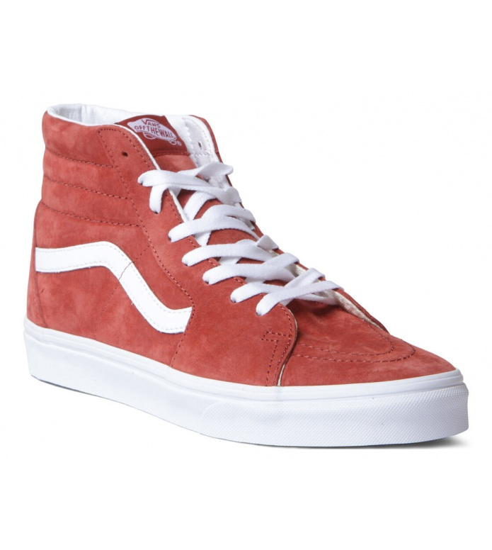 Vans Vans Shoes Sk8-Hi red burnt brick/true white