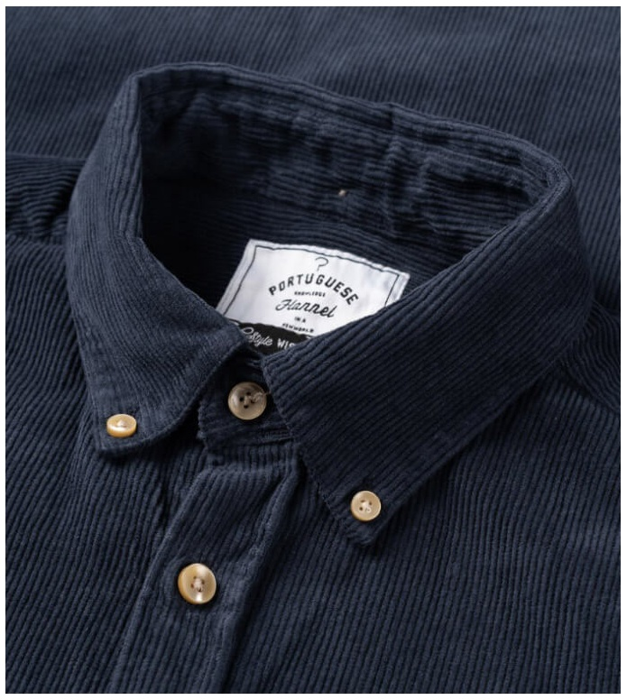 Portuguese Flannel Portuguese Flannel Shirt Lobo blue