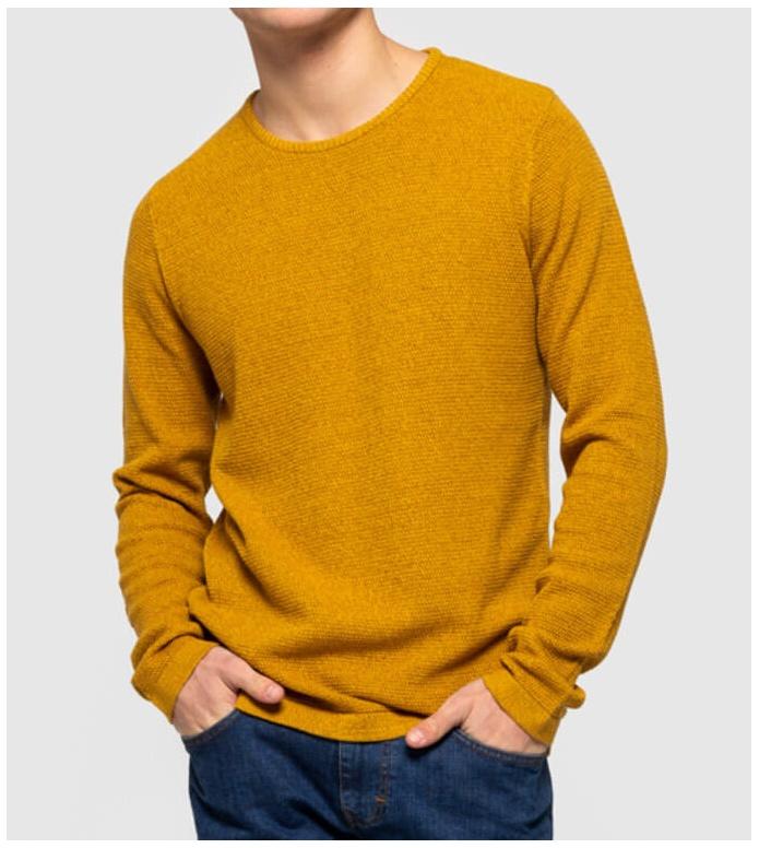 Revolution (RVLT) Revolution Knit Pullover 6005 yellow