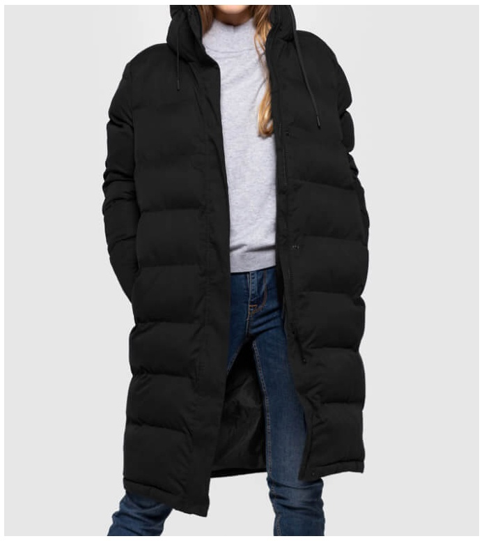 Selfhood Selfhood W Winterjacket 77141 Puffer black