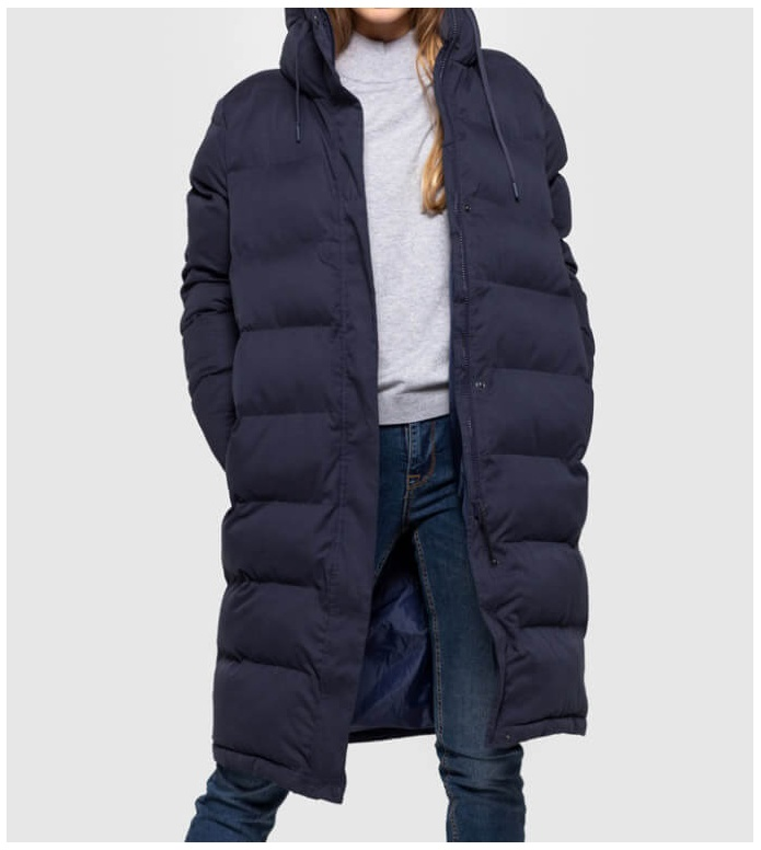 Selfhood Selfhood W Winterjacket 77141 Puffer blue navy