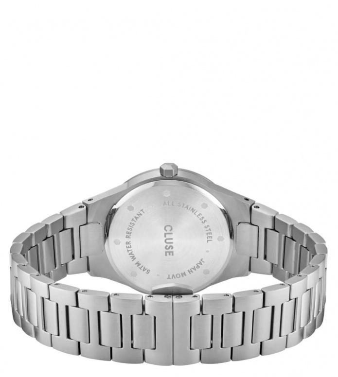 Cluse Cluse Watch Vigoureux 33 H-Link silver/snow white silver