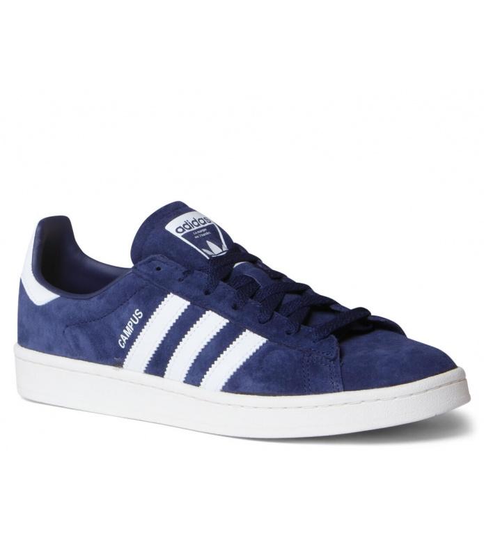 adidas Originals Adidas Shoes Campus blue dark/footwear white/chalk white