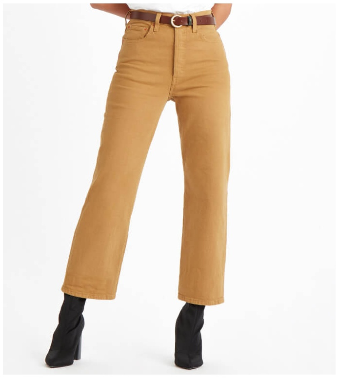 Levis Levis W Jeans Ribcage beige one track mind