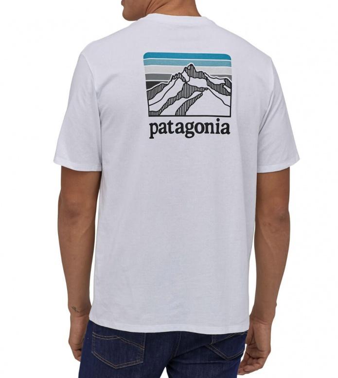 Patagonia Patagonia T-Shirt Line Logo Ridge white