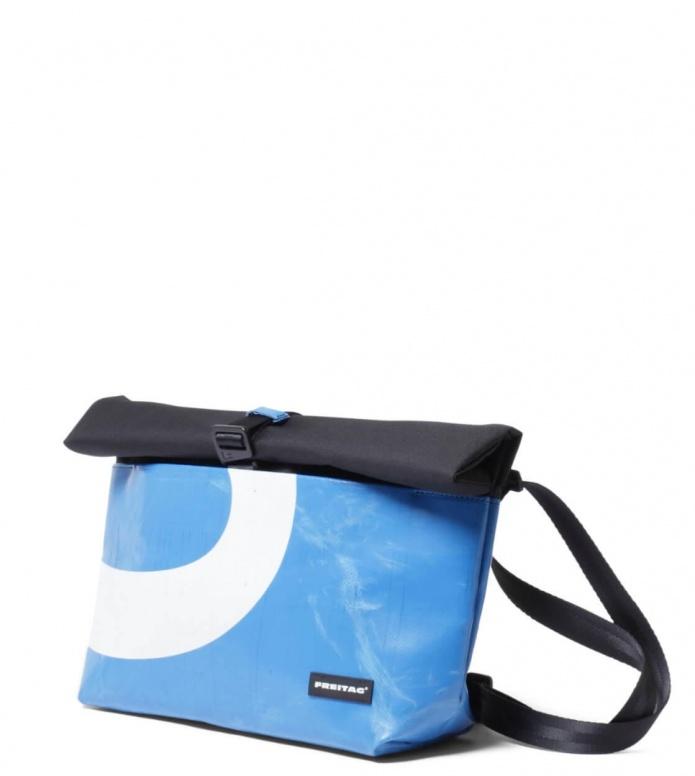 Freitag Freitag ToP Bag Rollin black/blue/white