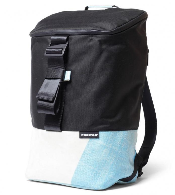 Freitag Freitag ToP Backpack Carter black/blue/white