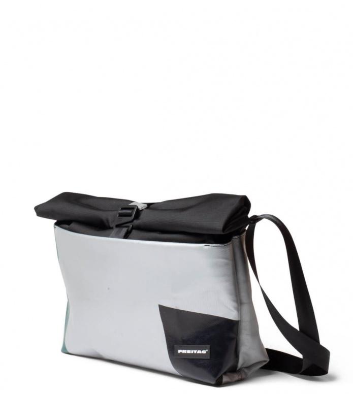 Freitag Freitag ToP Bag Rollin silver/green/black